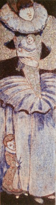 'When the wind blows'. Collagraph. 10cm x 36cm.