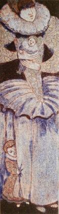 'When the wind blows'. Collagraph. 10cm x 36cm.
