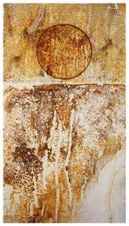 Rust print on paper. 42 x 59cm.