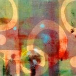 'Loss'. Monoprint. 42 x 33 cm. Edition of 1.